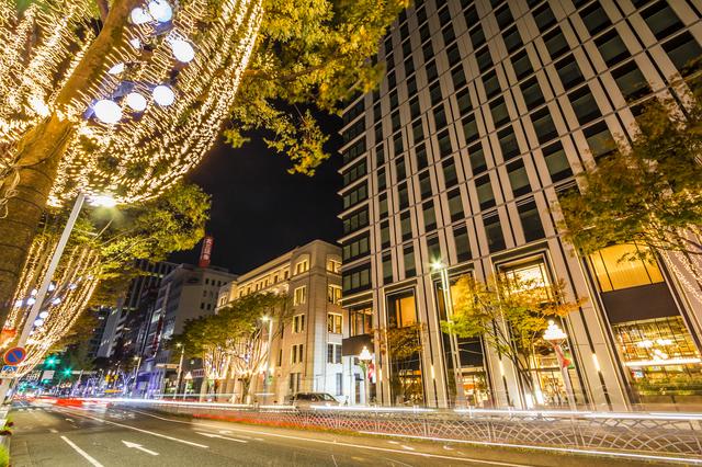 名古屋周辺で冬のイルミネーションを愉しめるスポットは?
